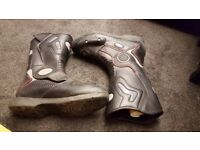 Motor Bike boots size 6, only worn a few times, excellent condition £15