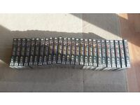 Star Trek Next Generation VHS, numbered 1-26
