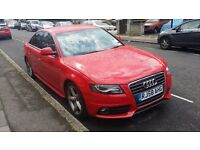 AUDI A4 S-LINE Diesel Low Mileage 58-reg Very Smooth Face Lift Model FSH
