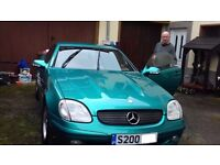 FOR SALE MERCEDES BENZ SLK200 - OUTSTANDING CONDITION