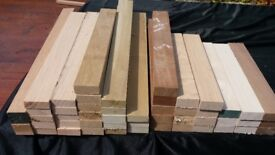 Timber assortment ideal hobbie