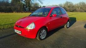 Ford Ka collection one lady owner only 44100 miles years mot PX considered