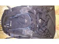 Vango Freedom 80+20 L Backpack Black NEW NEVER BEEN USED