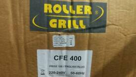 Roller grill crepe machine