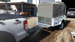 7x4 OFFROAD CAMPING OFFROAD GALVANISED BOX TRAILER 4X4 SETUP NEW Caloundra Caloundra Area Preview