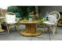 Patio drinks table