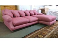 Beautiful Large Loaf Sofa Crumpet Chaise XL /Corner s New Condition ,Cost £2750