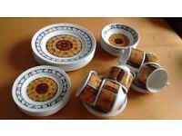 Broadhurst Ironstone dinnerware Tashkent design