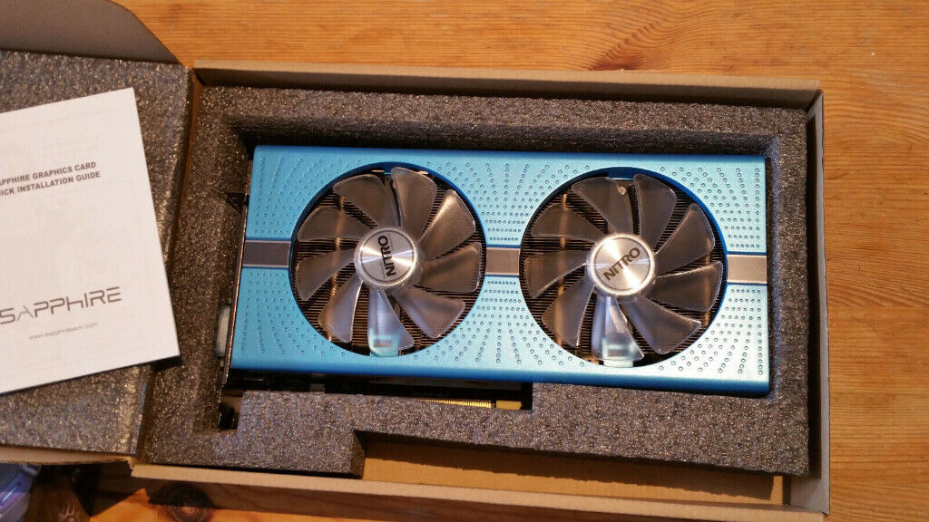 Sapphire Radeon RX 580 NITRO+ Special Edition 8 GB GDDR5 Graphics Card -  Blue | in Peterborough, Cambridgeshire | Gumtree
