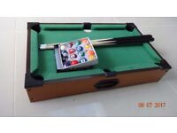 Deluxe Table Top Pool Game/Snooker Table Game