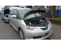 2007 toyota ESTIMA 2.4 PETROL HYBRID AUTO BREAKING ENGINE GEARBOX BODY PARTS