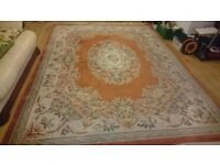 LARGE CHINESE WOOL WOVEN RUG