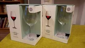 8 Maxim red wine glasses