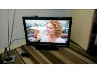 Sharp 32 inch screen hd lcd free view tv £ 75