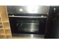 Technolec stainless steel built-in oven