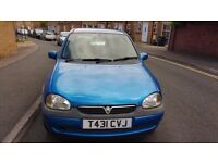 Vauxhall Corsa FULL MOT for 1 Year(exp 12/09/17) Mileage 117185