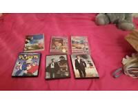 bunch of dvds