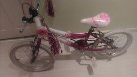 Girls 14 inch bike.