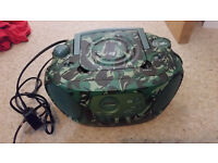 Woolworths Camoflage Portable CD Player