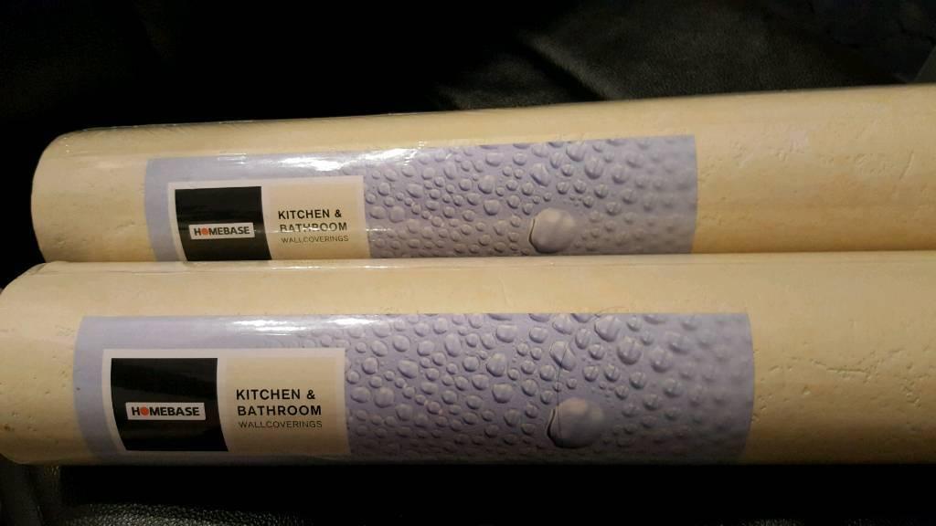 Kitchen And Bathroom Homebase Wallpaper 2 New Rolls In Newport