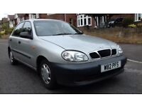 VERY LOW MILEAGE DAEWOO LANOS 1.3 FULL DOCUMENTED SERVICE HISTORY