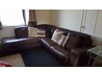 Leather sofa company corner sofa
