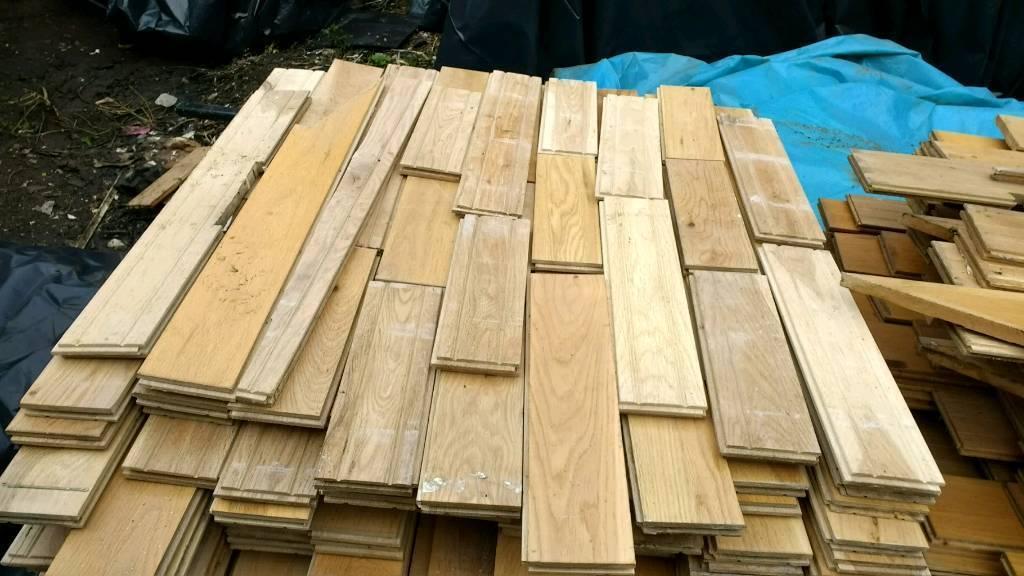 Reclaimed oak flooring in bargeddie glasgow gumtree for Decking boards glasgow