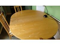 kitchen/dining table 6 chairs ikea new price £100