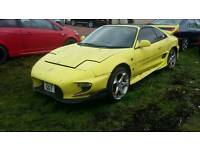 Toyota mr2 gr T bar projects