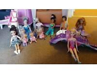 Barbie dolls bundle