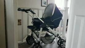pram and complete travel system