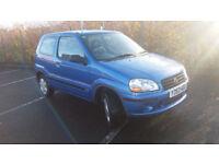 2001(Y)SUZUKI IGNIS 1.3 GL MET BLUE,LOW MILES,CLEAN CAR,GREAT VALUE