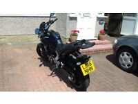 Yamaha MT07 2015 dark purple