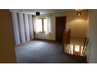 2 Bedroom unfurnished first floor flat in Smithton, in good decorative order. White goods included