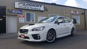 2015 Subaru WRX STI w/Sport Pkg-1 Owner Highway KM- AWD-Sunroof-