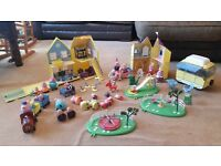 Peppa Pig playsets toys bundle