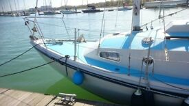 Macwester Rowan Crown sailing boat yacht