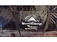 Sunncamp caravan awning