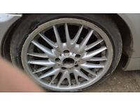 """BMW 18"""" alloy wheels m style NEED GONE PRICE LOWERED"""