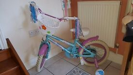 Childrens 16 inch bike