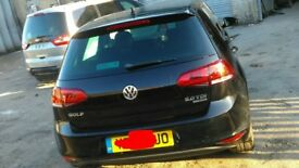 VW golf Mk7 FULLY LOADED LOW MILES QUICK SALE