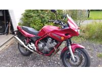 XJ600 Diversion December 1998 low milage twin disc model 5 months MOT and still taxed