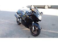 Honda cbr1100xx super black bird