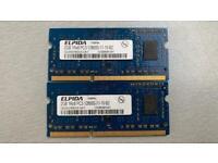 4GB Laptop DDR3 RAM