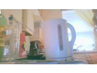 White Kettle for sale £4 in fife, burntisland collection only