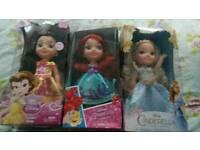 Brand new princess dolls
