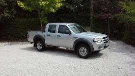 Ford Ranger Double Cab 4x4 Moondust Silver 56 Plate NO VAT