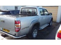 Mazda 4x4 bt50 double cap pickup like ford ranger