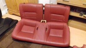 RARE Toyota Celica (99-06) full red leather seats.