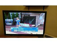 """Panasonic 42"""" TX-P42XT50B 1080p Full HD 3D Internet TV, Built in Freeview HD £195"""